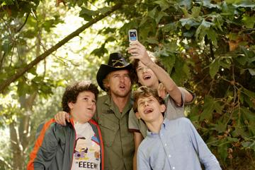 Troy Gentile , Owen Wilson , Nate Hartley and David Dorfman in Paramount Pictures' Drillbit Taylor