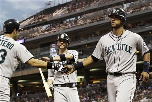 Ackley's 3-run homer leads Mariners past Twins 5-2