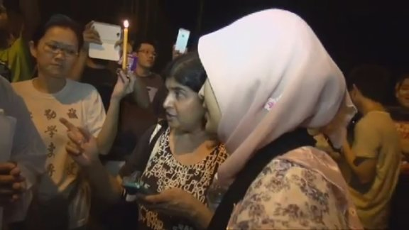Vigil for Adam Adli smooth in KL, chaos in Penang