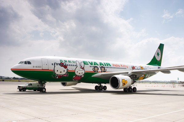 Hello Kitty Airbus for Eva …