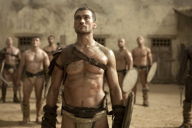 Andy Whitfield, Espartaco