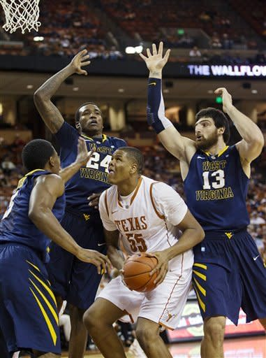 West Virginia rallies past Texas 57-53 in overtime