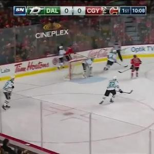 Dallas Stars at Calgary Flames - 12/19/2014