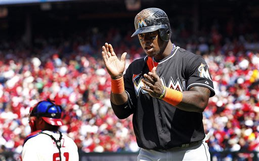 Infante, Sanchez lead Marlins over Phillies, 6-2