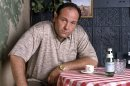 FILE - This 1999 file photo provided by HBO, shows James Gandolfini as mob boss Tony Soprano, in an episode from the first season of the HBO cable television mob series,
