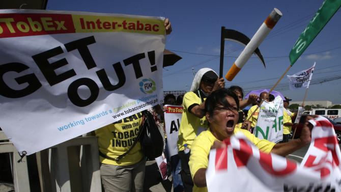UN concerned over tobacco fair in Philippines