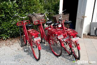 Bicycles at C/O The Maidstone -- East Hampton
