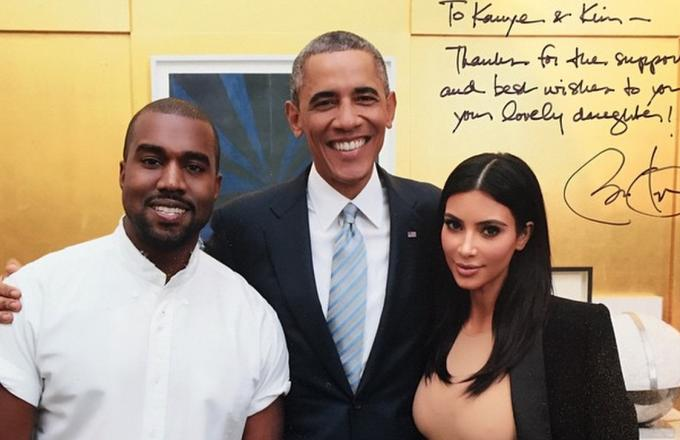 Kanye West Performs at DNC Fundraiser After Getting Some Hilarious Presidential Advice From Obama