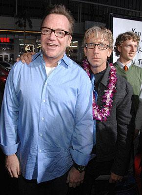 Tom Arnold and Andy Dick at the Los Angeles premiere of Universal Pictures' Forgetting Sarah Marshall