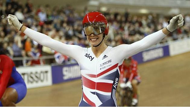Cycling - James relishing Manchester World Cup