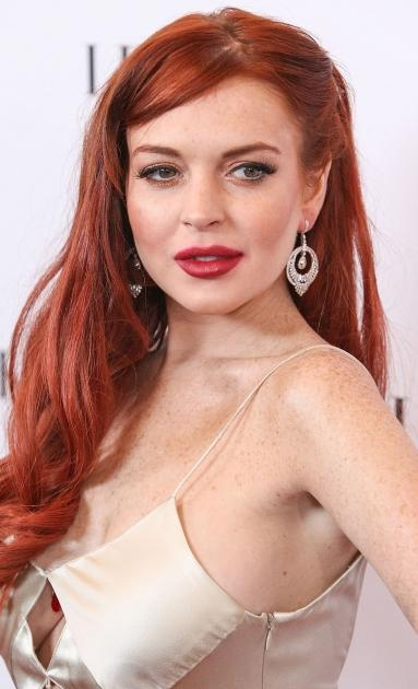 Lindsay Lohan arrives at the premiere of Lifetime's 'Liz & Dick' at Beverly Hills Hotel on November 20, 2012 in Beverly Hills -- Getty Premium