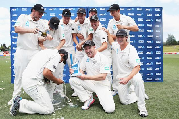 New Zealand v West Indies - Third Test: Day 4