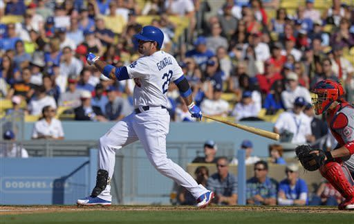 Dodgers blow 2-run lead but beat Cardinals 5-3