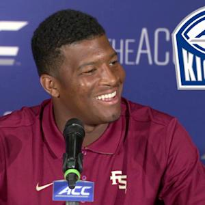 Florida State's Jameis Winston Talks to the Media | #ACCkickoff