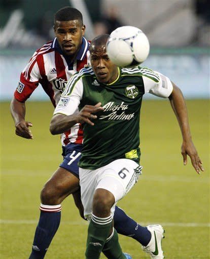 LaBrocca's goal gives Chivas 2-1 win over Timbers