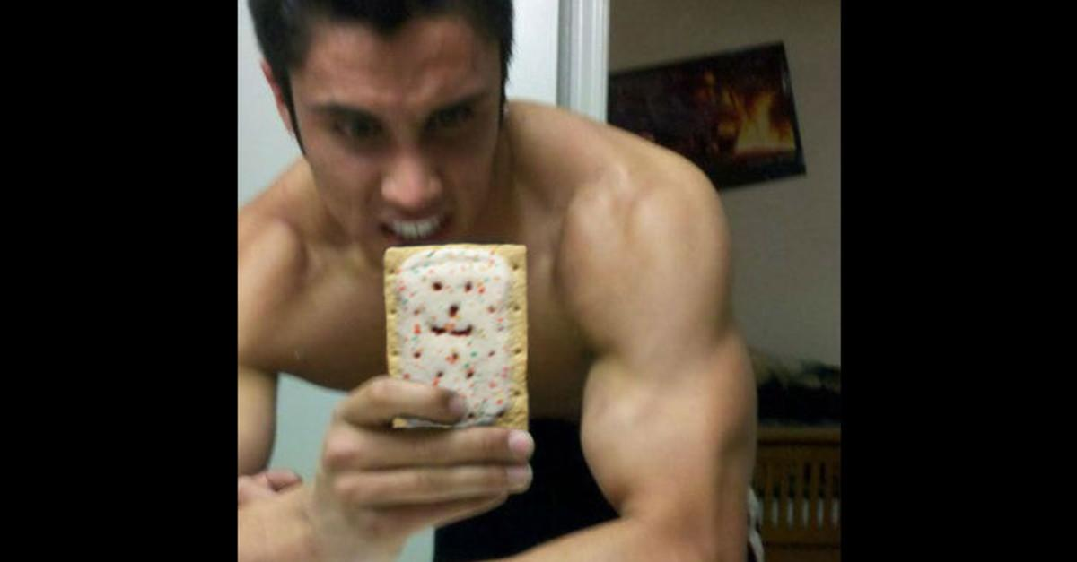 17 Selfies Secretly Sabotaged By Poptarts