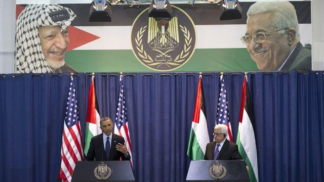 Obama and Arafat: appropriate imagery?