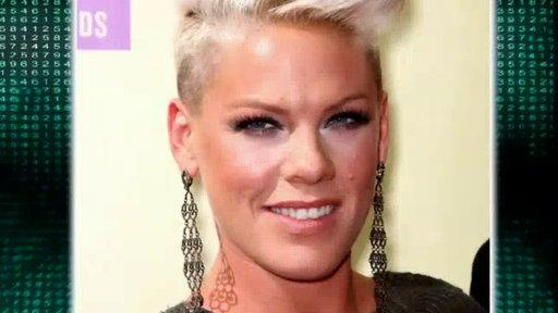 Pink Shows Off 55-Pound Weight Loss and Tight Toned Abs!