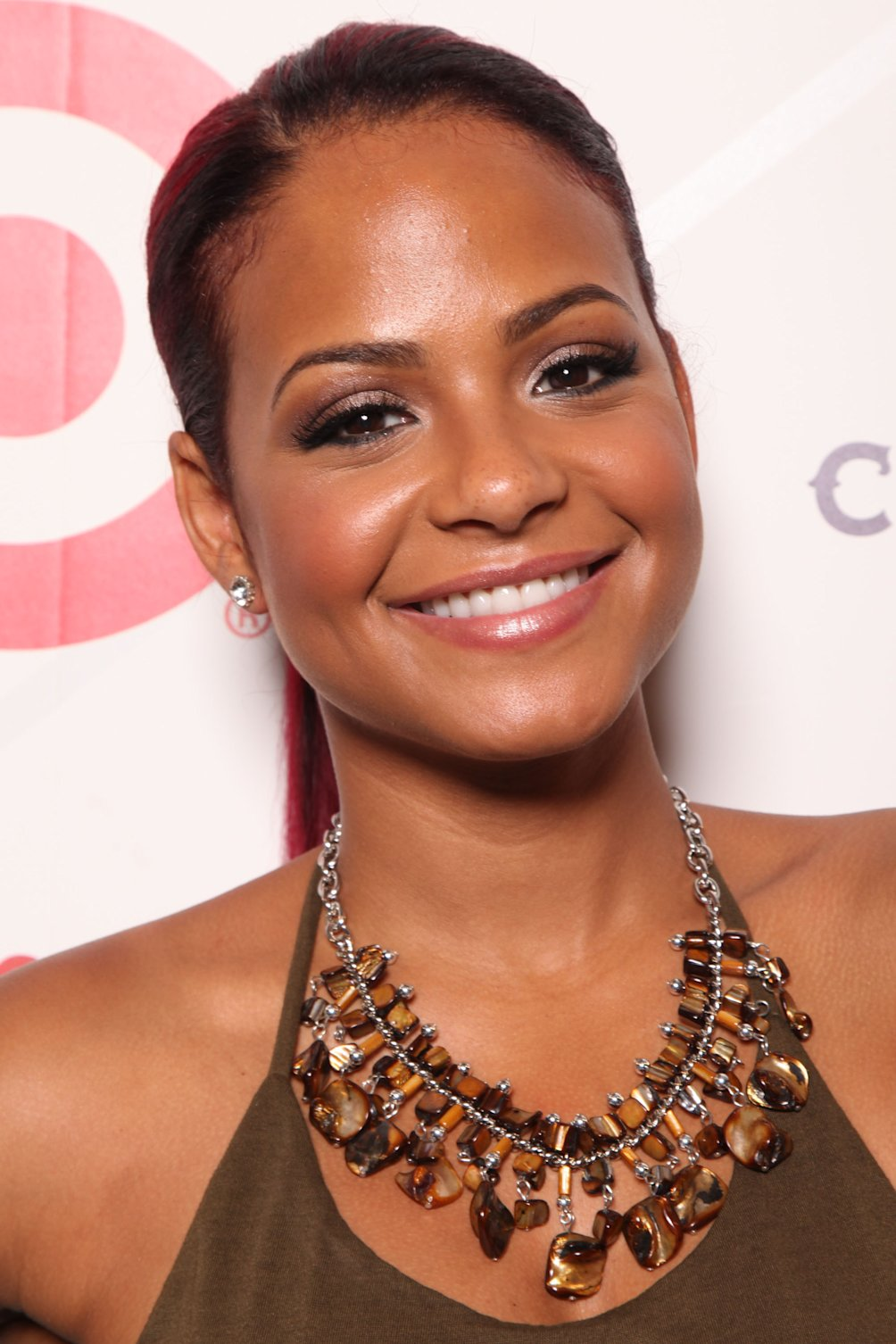 Christina Milian attends the 9th Annual Irie Weekend Celebrity Golf Tournament on Friday, June, 28, 2013 at Miami Beach Golf Club in Miami Beach, Fl. (Photo by Omar Vega/Invision/AP Images)