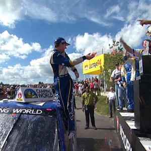 Blaney: 'That was a blast'