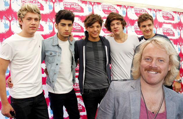 One Direction Keith Lemon
