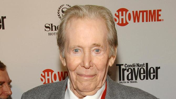 "FILE - This March 19, 2008 file photo shows actor Peter O'Toole attending the world premiere of the second season of Showtime's ""The Tudors"", in New York.  In a statement released Tuesday, July 10, 2012, the 79-year-old actor said he would retire from films and stage. ""The heart of it has gone out of me,"" he said, adding, ""it won't come back."" O'Toole won acclaim as a Shakespearian actor before rocketing to fame in ""Lawrence of Arabia."" His last of eight Oscar nominations was in 2007 for the film ""Venus."" (AP Photo/Evan Agostini, file)"