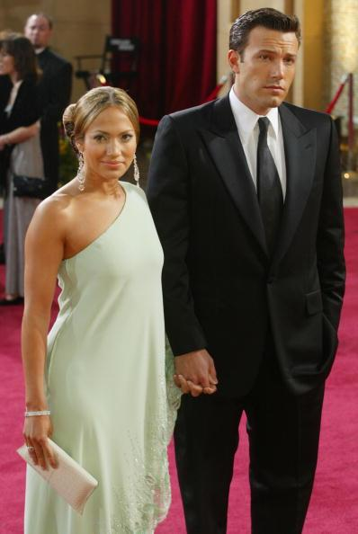 Bennifer at the Oscars in March 2003