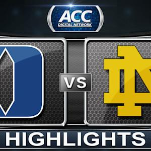 Duke vs Notre Dame | 2014 ACC Women's Basketball Tournament Highlights