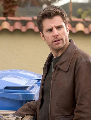 "James Roday as Shawn Spencer in ""Psych."""