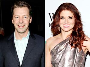 Sean Hayes to Reunite With Will & Grace Costar Debra Messing on Smash