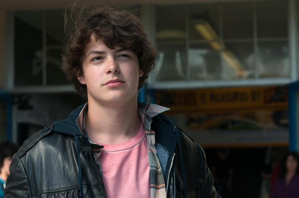 "This publicity image released by A24 Films shows Israel Broussard in a scene from ""The Bling Ring."" (AP Photo/A24 Films, Merrick Morton)"