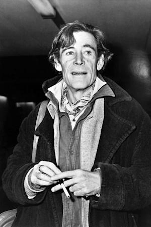 Peter O'Toole on February 17, 1981 at Heathrow …