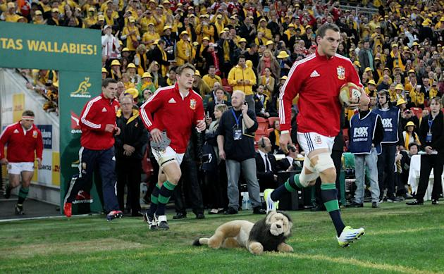 Rugby Union - 2013 British and Irish Lions Tour - First Test - Australia v British and Irish Lions - Suncorp Stadium