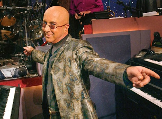 Paul Shaffer, Musical Director, The Late Show with David Letterman  on CBS. Late Show With David Letterman