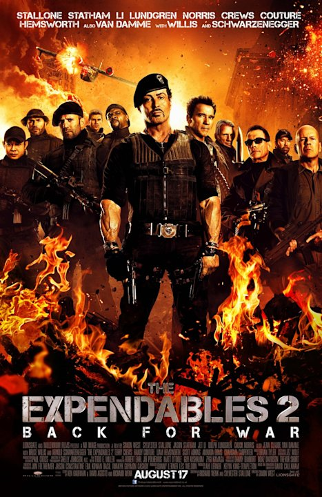 Best and Worst Movie Posters 2012 The Expendables 2