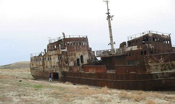 La Desaparicion del Mar de Aral