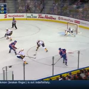 Pekka Rinne Save on Taylor Hall (14:20/2nd)
