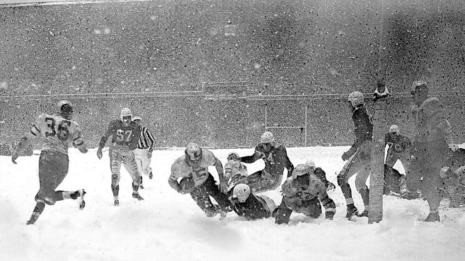Cold-weather title games used to be the NFL norm