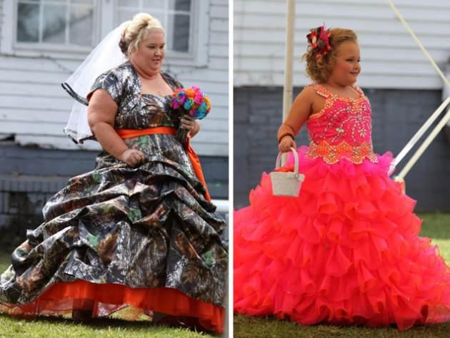 'Honey Boo Boo's' Mama June and Alana Thompson seen on May 5, 2013  -- TLC