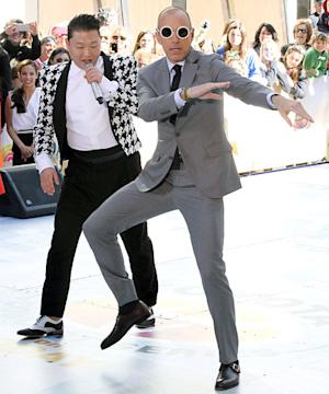 Matt Lauer Addresses Today Show Drama, Dances Awkwardly With Psy