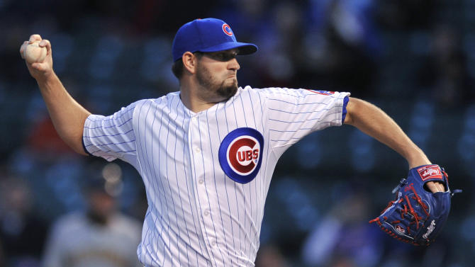 Hammel strong again, Cubs beat Pirates 7-5
