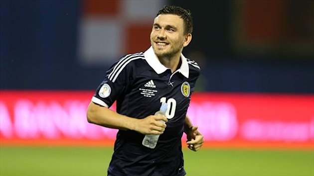 Robert Snodgrass' first-half goal gave Scotland their first Group A victory after seven attempts