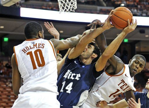 Brown leads Texas past Rice 73-59
