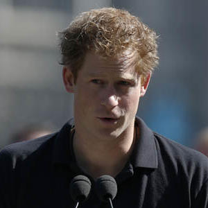 Prince Harry Rocks Out in London