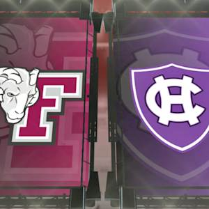 Patriot League Prime Play: Nebrich Passes Fordham Past Holy Cross