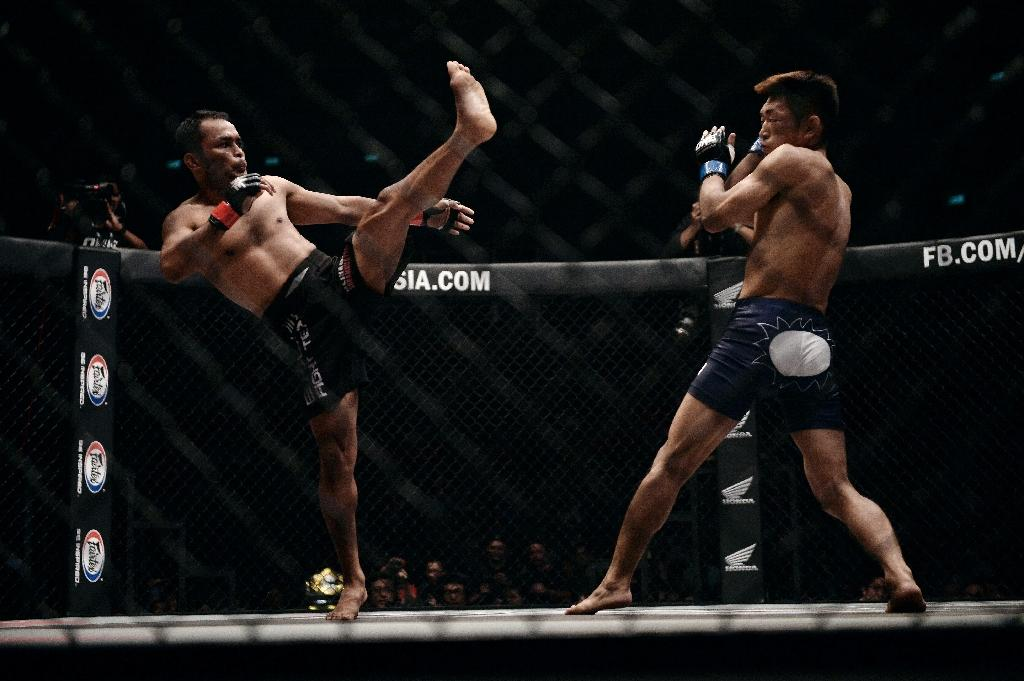 Thailand grapples with first big MMA bout