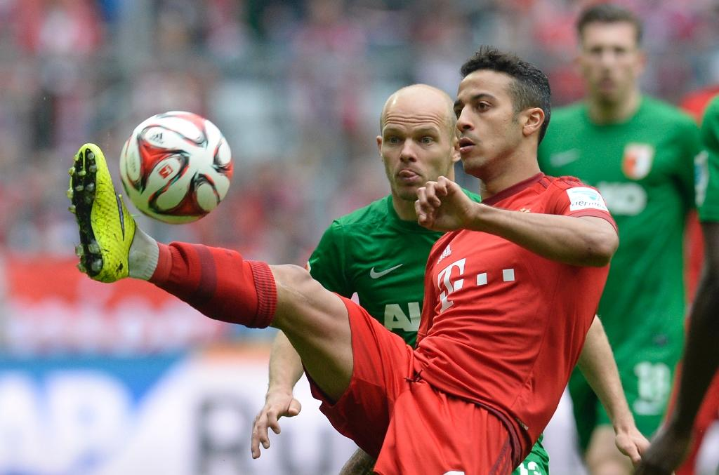 Spain star Thiago extends Bayern stay