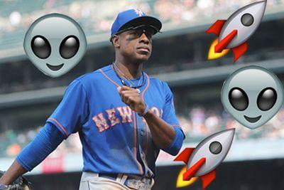 Curtis Granderson is a moon landing conspiracy theorist