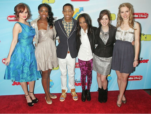 Debby Ryan, Coco Jones, Tyler …