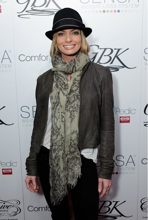 Jaime Pressly attends Day 1 of the GBK Oscar Globes Gift Lounge at W Hollywood on February 25, 2011 in Hollywood, California.
